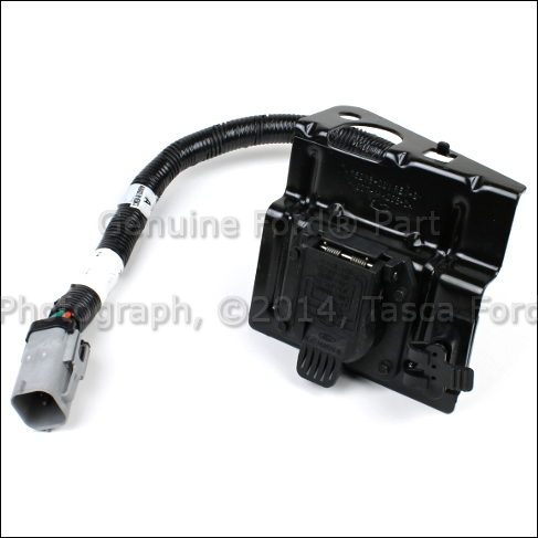 new oem 4 pin & 7 pin trailer tow wire wiring harness kit 2002 04  image is loading new oem 4 pin amp 7 pin trailer