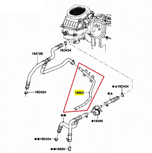f250 thermostat location