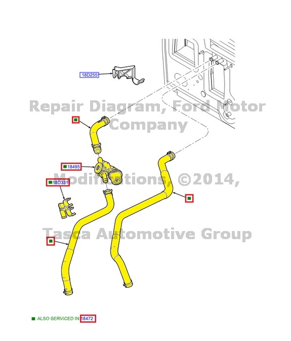 New Oem Intake To Heater Core Hose 20022003 Ford Ranger 30l 2l5z Rhebay: 2003 Ford Ranger Heater Schematic At Gmaili.net