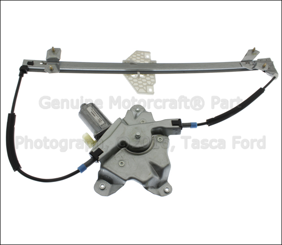 Image is loading NEW-OEM-LH-FRONT-DOOR-WINDOW-REGULATOR-W-