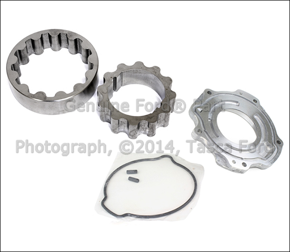 NEW OEM OIL PUMP ROTOR GEARS & FRONT COVER W/ GASKET FORD
