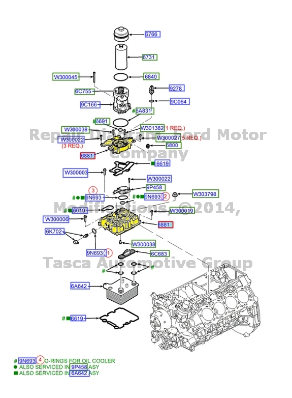 60 Powerstroke Oil Filter Housing Diagram - Hanenhuusholli