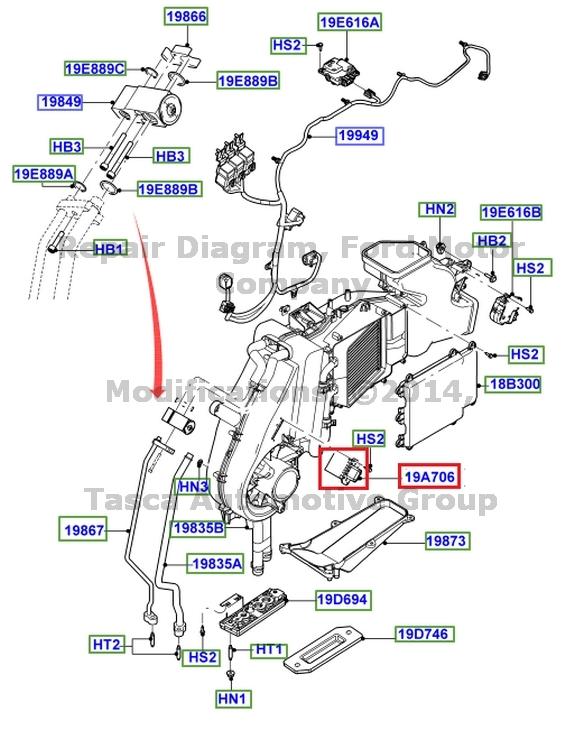 Ford oem hvac blower motor resistor 3f2z18591ba image 11 ebay oem ac blower motor resistor ford freestar taurus x freestyle mercury monterey freerunsca Images