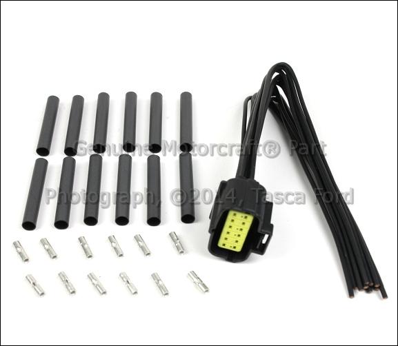 1 brand new oem transmission range sensor wiring harness ford transaxle range sensor wire harness at nearapp.co