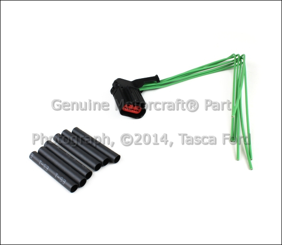 new oem 6 cavity pigtail wiring harness ford lincoln. Black Bedroom Furniture Sets. Home Design Ideas
