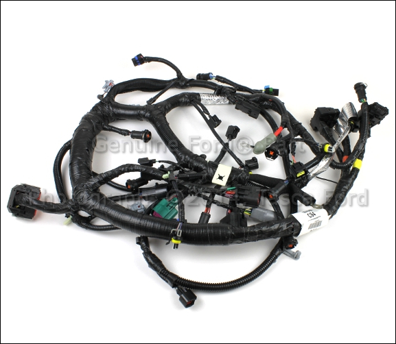 NEW OEM 6.0L V8 ENGINE WIRE HARNESS FORD E350 ECONOLINE E450 #4C2Z Underhood Wiring Harness Ford on 6.0 powerstroke engine wiring harness, ford engine wiring harness, 2005 chevy aveo engine wiring harness, 51 ford wiring harness, car wiring harness, t one wiring harness, ford 7.3 diesel engine diagram, automotive wiring harness, ford truck wiring harness, 1960 ford f100 wiring harness,