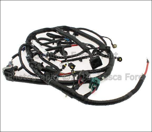 0 new oem engine control sensor wire harness f250 f350 f450 f550 1999 F350 Wiring Harness at bayanpartner.co