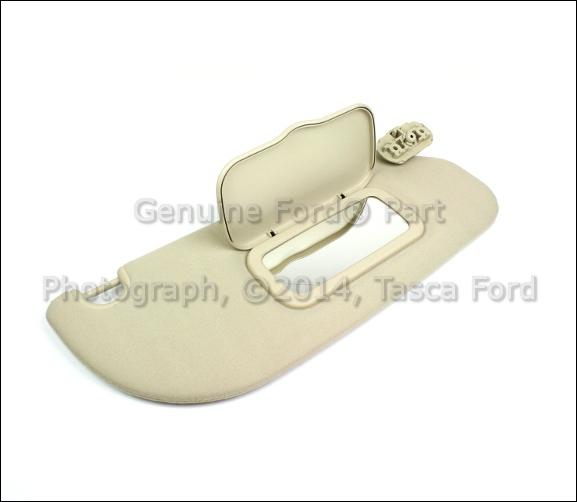 Buy OEM RH Side Light Parchment Sun Visor 2005 Ford Explorer Mercury ... 08988940d606