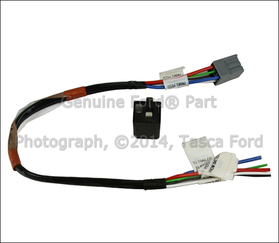 0 brand new oem trailer hitch electrics wiring harness ford f150 Trailer Hitch Wiring Diagram at virtualis.co
