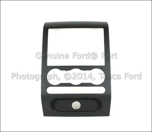 NEW OEM INSTRUMENT PANEL TRIM BLACK 2004-2008 FORD F-150 ...
