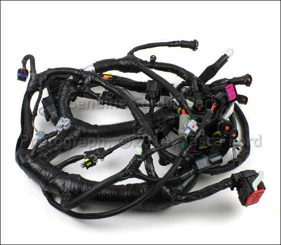 1 brand new oem main engine wiring harness ford econoline 5c2z new engine wiring harness for 1985 vw vanagon at couponss.co