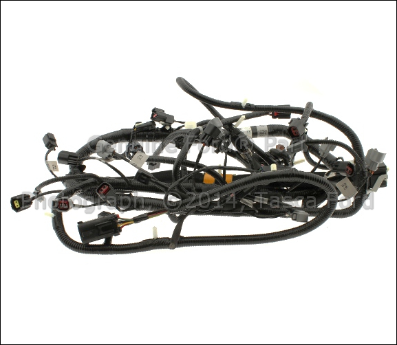 new oem main engine wiring harness 2005 2006 ford f250 f350 f450 rh ebay com Electrical Wiring Harness Kit 5.0 Engine Harness