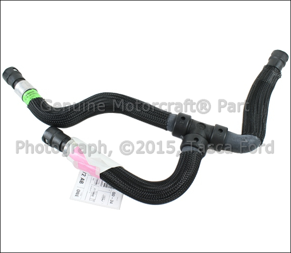 NEW OEM WATER HEATER OUTLET HOSE 2005-2006 FORD EXPEDITION LINCOLN NAVIGATOR