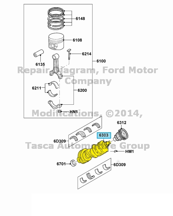 new oem crankshaft ford ranger explorer sport mustang