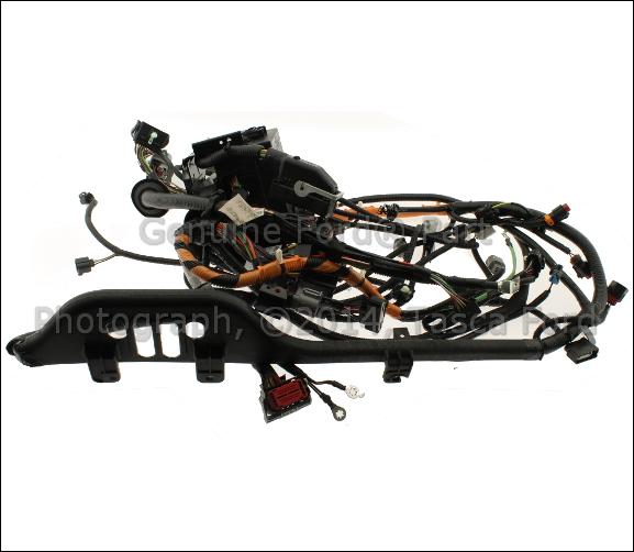 New oem diesel engine wiring harness  ford f