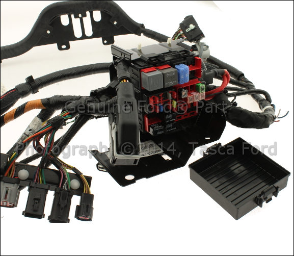 3 new oem diesel engine wiring harness 2006 2007 ford f series sd Wiring Harness Diagram at aneh.co