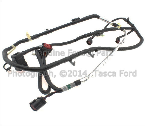 details about new oem automatic transmission wiring harness 2006 2007 ford f series sd diesel Ford Transmission Shifter