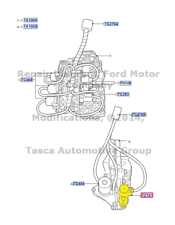 image is loading new-oem-auto-transmission-solenoid-f-shift-seal-