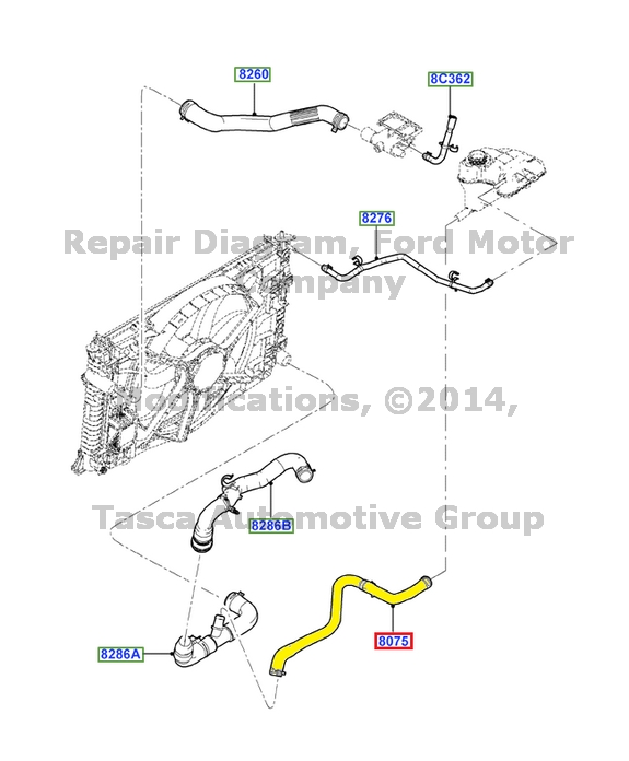 2006 lincoln zephyr belt diagram