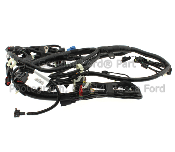 0 new oem engine wiring harness ford explorer sport trac mercury 2007 ford explorer engine wire harness at edmiracle.co