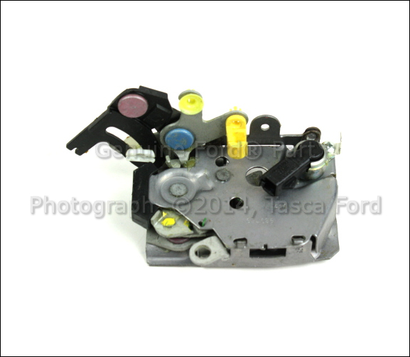 New oem lh drivers side rear door latch 2001 2005 ford for 2001 ford explorer sport trac rear window problem