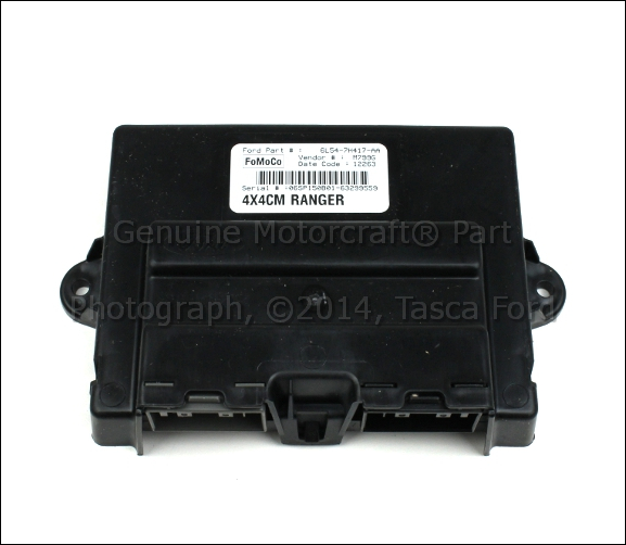 2002 Ford Explorer Sport Trac 4x4: NEW OEM 4X4 TRANSFER CASE SHIFT CONTROL MODULE FORD RANGER
