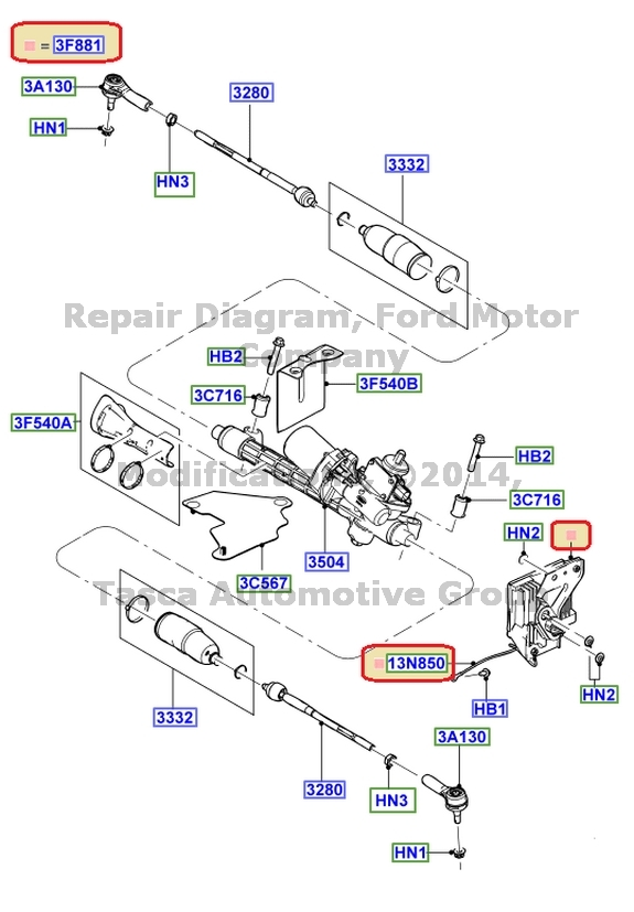 New Oem Power Steering Control Module Ford Escape Hybrid Mercury Rhpicclick: Ford Power Control Module Location At Gmaili.net