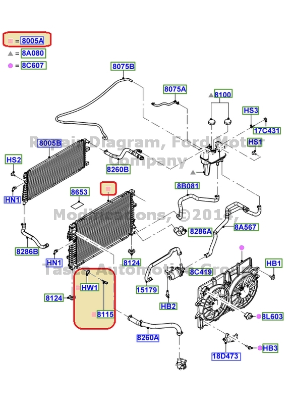 2007 Ford Escape Radiator Diagram Wiring Library. Radiador Oem Nuevo 2005 2009 Ford Escape H Brido 2006 Mercury Rh Ebay Exhaust Parts Diagram. Ford. 2008 Ford Escape Wiring Schematic At Eloancard.info