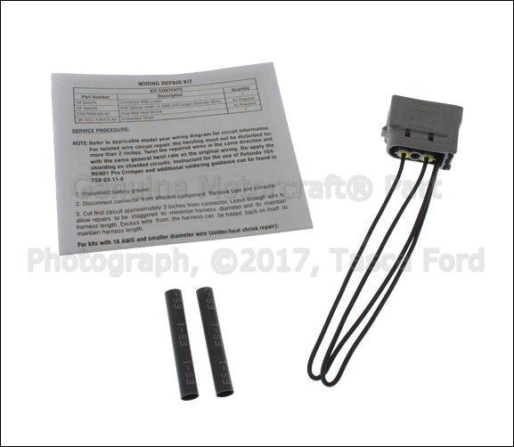 brand new oem 2 cavity pigtail wire harness wiring ford. Black Bedroom Furniture Sets. Home Design Ideas