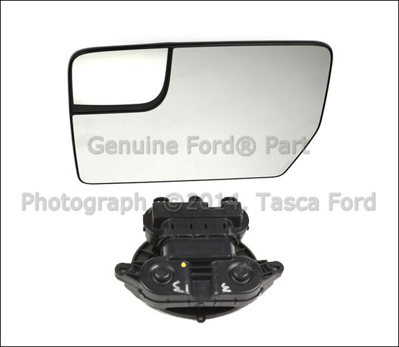 New Oem Lh Left Drivers Side Power Mirror Glass Motor Kit 2011