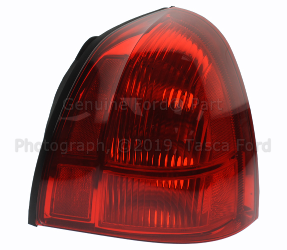 New Oem Rh Right Side Rear Brake Light Embly 2006 2017 Lincoln Town Car