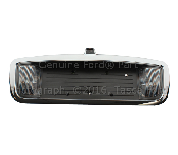 2006 Lincoln Town Car For Sale: NEW OEM REAR LICENSE PLATE HOUSING 2006-2011 LINCOLN TOWN