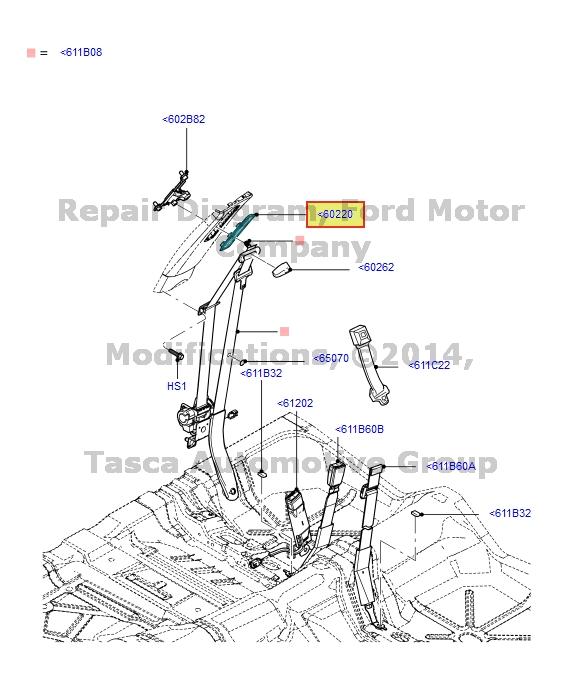 Brand New Oem Front Lhrh Side Seat Belt Bezel Trim 2006 2011