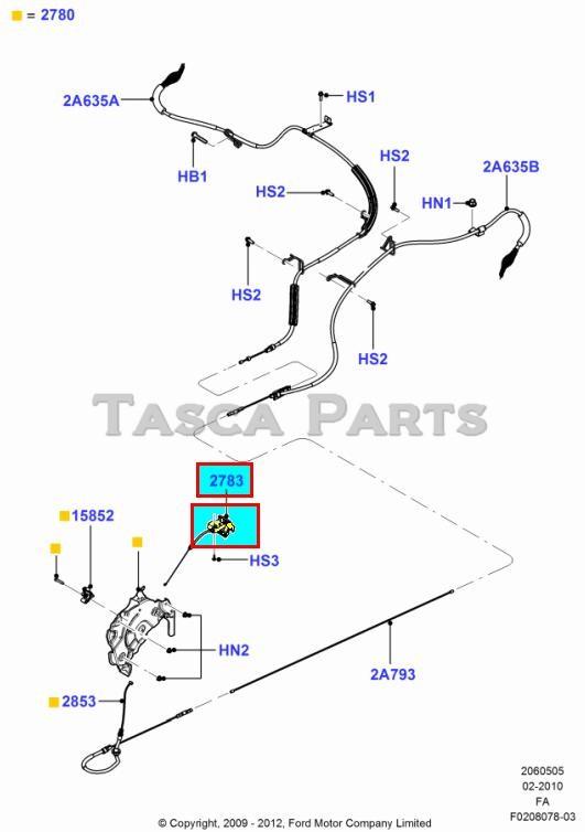 new oem parking brake handle 2008-2013 ford f250 f350 f450 f550 super duty