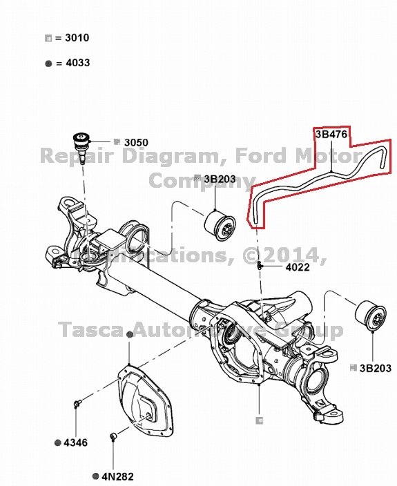 2003 f350 front axle diagram new oem front axle vent hose 2008-2013 ford f250 f350 f450 ... ford front axle diagram