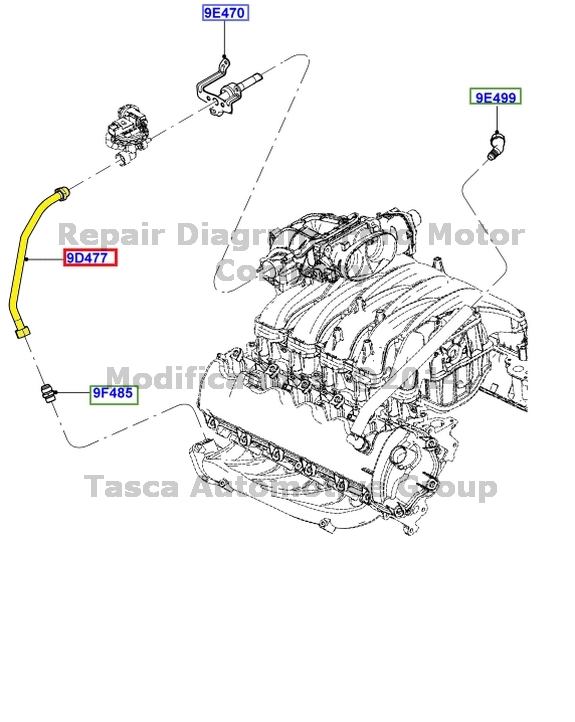 1995 ford f150 egr valve location