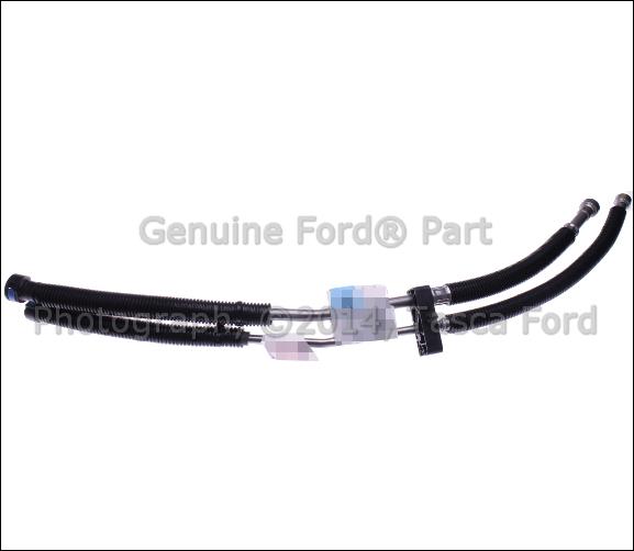 new oem body fuel line tube 2008 2010 ford f250 f350 f450. Black Bedroom Furniture Sets. Home Design Ideas