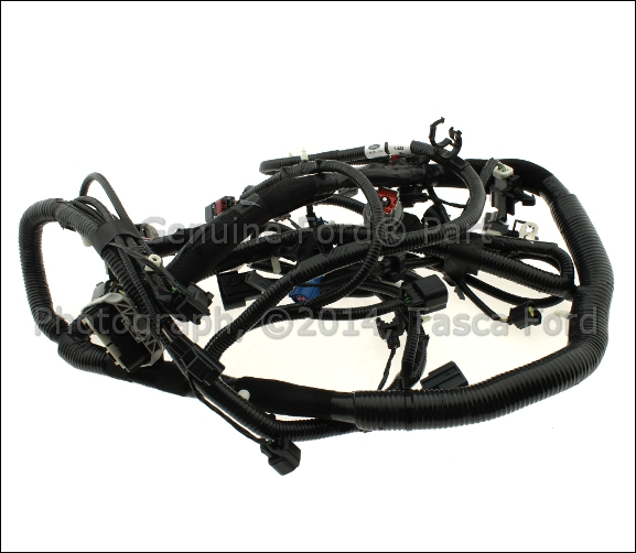1 new oem main engine wiring harness ford explorer sport trac 2007 ford explorer engine wire harness at edmiracle.co