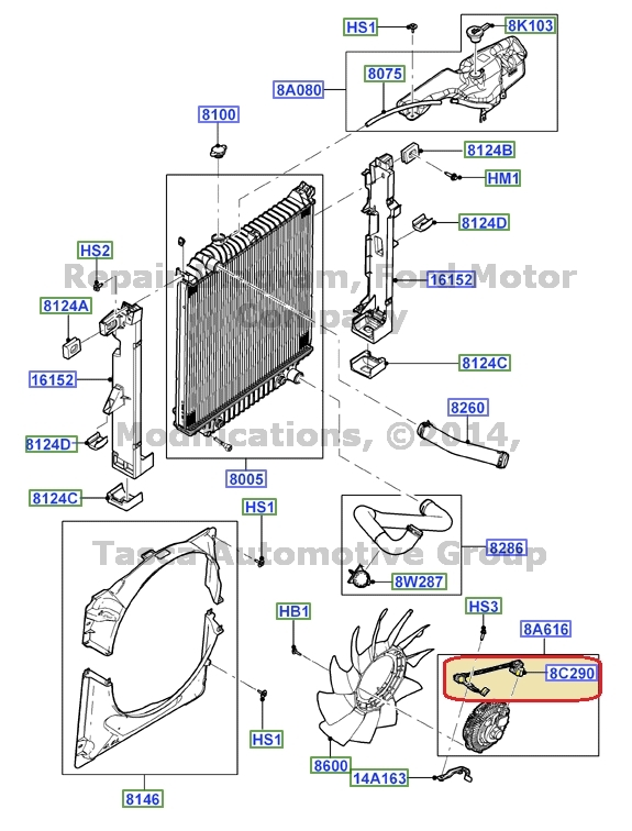 brand new oem radiator fan motor wiring harness explorer sport trac rh ebay com Engine Wiring Harness dual radiator fan wiring harness
