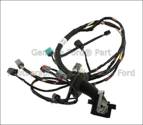 0 new oem left side front door panel wiring harness 2007 2008 ford Ford F-150 Trailer Wiring Harness at bakdesigns.co