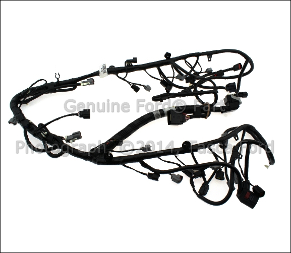 New Oem Main Engine Wiring Harness 2007 Ford F150 Lincoln Mark Lt