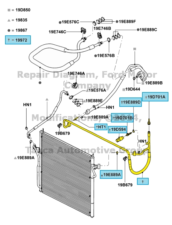 New Oem Ac Pressor To Condenser Hose 20042011 Ford Ranger 23l. New Oem Ac Pressor To Condenser Hose 20042011 Ford Ranger 23l. Ford. 2003 Ford 2 3 Hose Diagram At Scoala.co