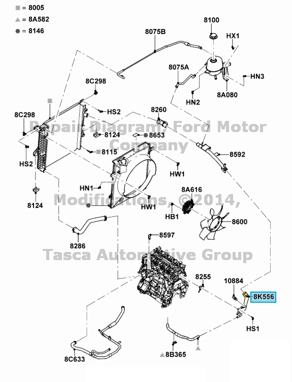 conectors ford ranger 2 3l engine diagram  ford  auto