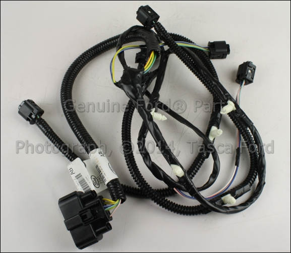 wiring harness for ford edge new oem rear parking aid sensor wiring harness 2007-10 ... wiring harness for ford expedition