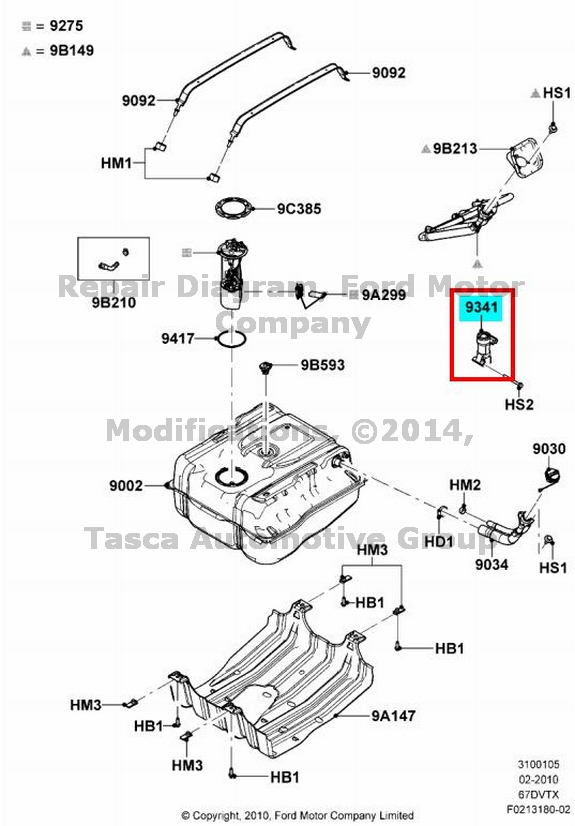 new oem fuel shut off switch ford f250 f350 f450 f550 sd edge ranger lincoln mkx