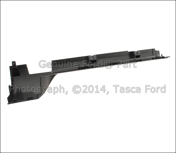 Lincoln Mks Parts: NEW OEM RH SIDE REAR HALF LOWER BODY MOULDING 2009-2013
