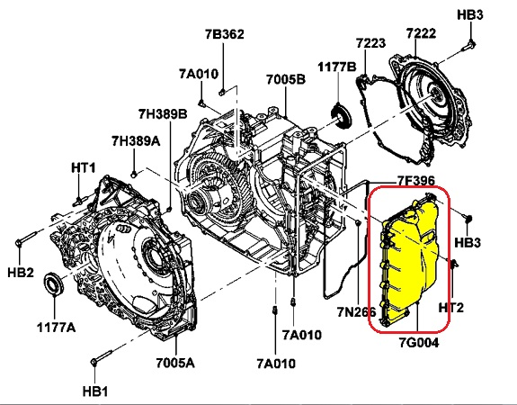 lincoln transmission diagram