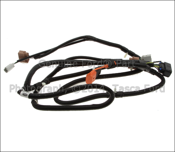 oem tail light wiring harness new oem tail light lamp wiring harness 2008-10 ford f ...