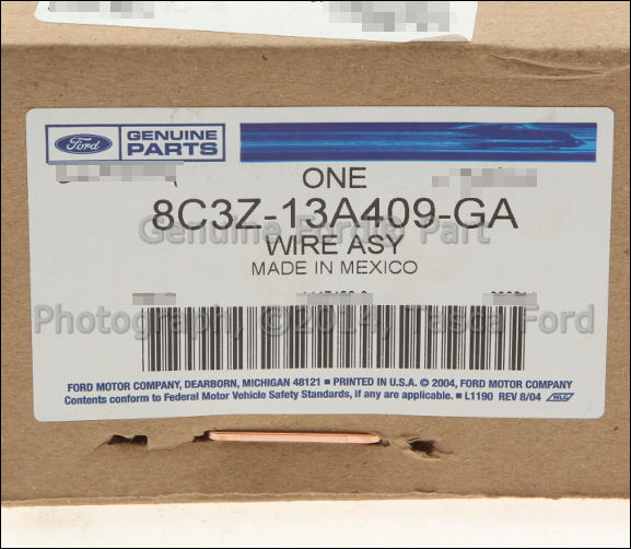 2 new oem tail light lamp wiring harness 2008 10 ford f series sd oem tail light wiring harness at honlapkeszites.co