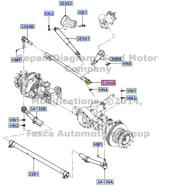Ford 8c3z3304d Genuine Oem Factory Original Drag Link